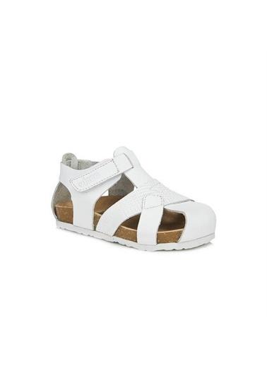 Vicco Vicco 905.20Y.086 Adonis Hakiki Deri Erkek Çocuk Spor Sandalet Ayakkabı Beyaz
